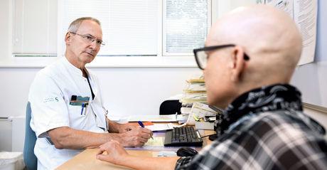 Symptomer mandlerne kræft i Caseøse stik