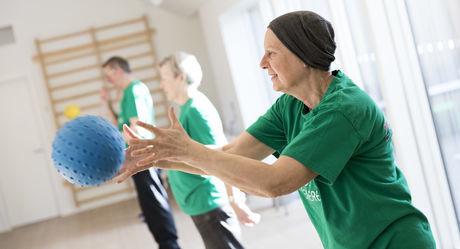 d9c1a055775 Fysisk aktivitet for kræftpatienter - Kræftens Bekæmpelse