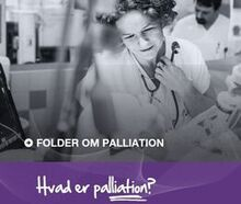 Folder om palliation forside