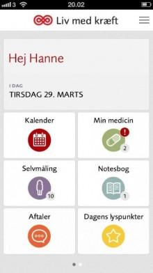 App til kræftpatienter og pårørende