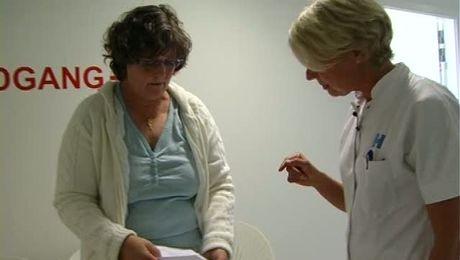 undersøgelse af bryst