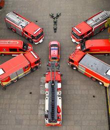 Brandbiler i Knæk Cancer formation