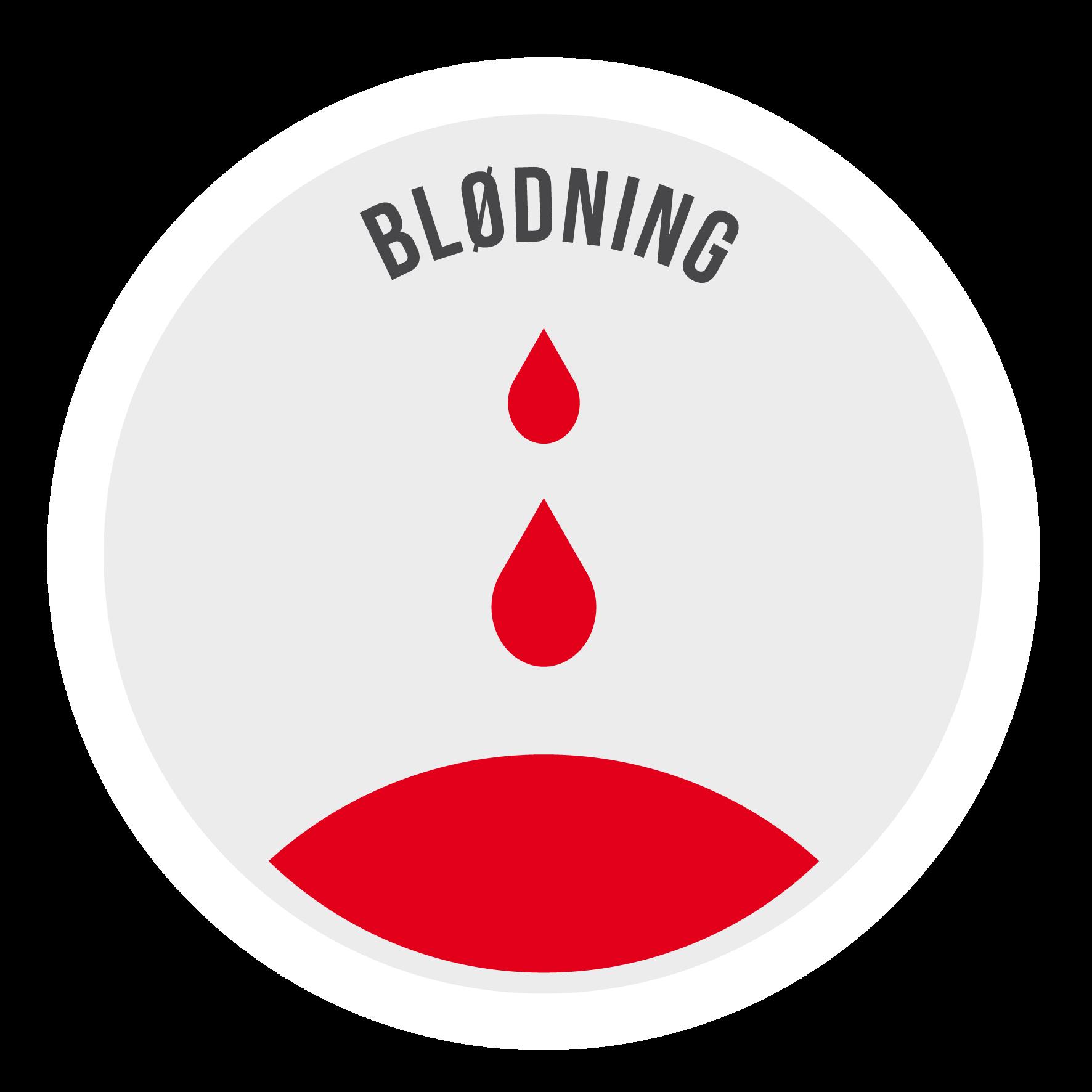 vold blødning efter samleje